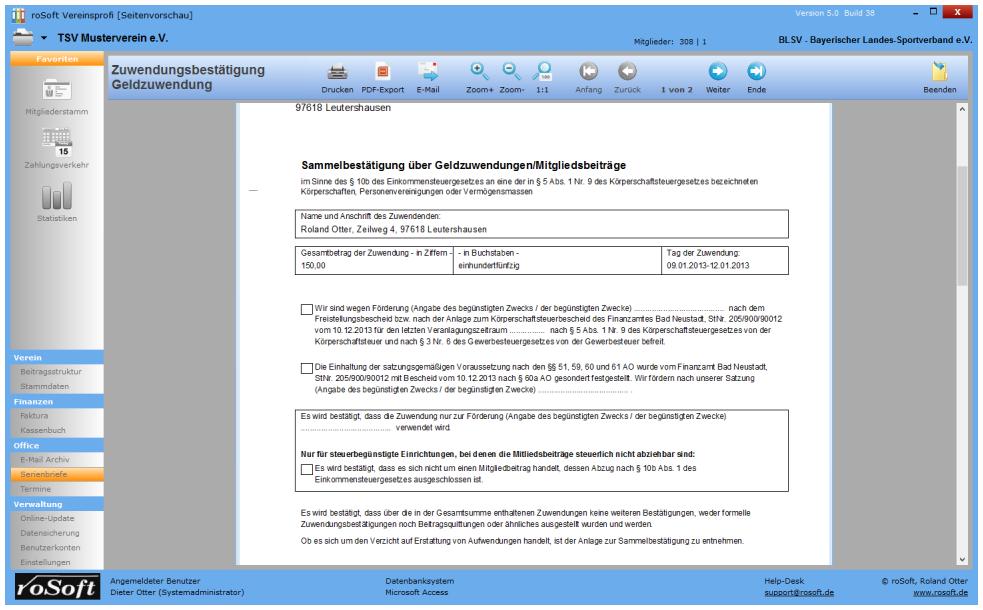 Brief Mit Openoffice Erstellen : Serienbriefe und zuwendungsbestätigungen erstellen mit